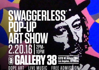 Art by FreshGhost Swaggerless Art Show